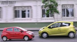 "Vì sao Chevrolet Spark 1.0 ""chất"" hơn Hyundai Eon!"