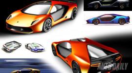 Bật mí công nghệ thiết kế Lamborghini Aventador