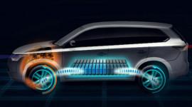 Mitsubishi chuẩn bị tung phiên bản Outlander chạy điện