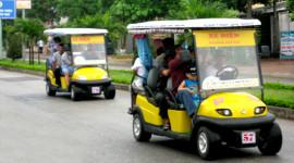 Sau Cửa Lò, bãi biển Sầm Sơn cũng sẽ có ôtô điện