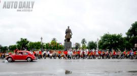 Hàng trăm xe cổ hội tụ tại Nam Định