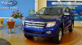 Xe Ford Ranger mới có giá hơn 740 triệu đồng tại Việt Nam