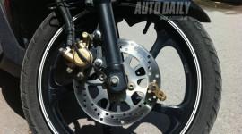 Khóa phanh đĩa chống trộm xe máy: Rẻ mà hiệu quả