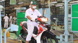 Honda ra mắt xe số Supra X mới