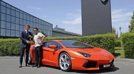 Chiếc Lamborghini Aventador thứ 1000 xuất xưởng