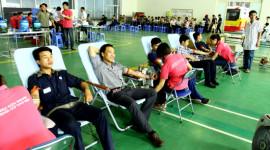 Nhân viên THACO hiến máu cứu người