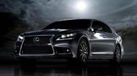Ảnh chính thức đầu tiên của Lexus LS 2013