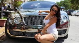 """""""Chói mắt"""" với Bentley Continental GT mạ crôm"""