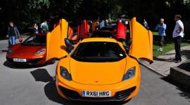 Ngắm những siêu xe McLaren đặc biệt tại Wilton House