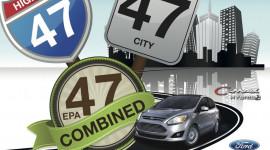 Ford C-Max Hybrid mới chỉ tiêu thụ 5 lít/100km