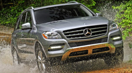 Lỗi thảm trải sàn, Mercedes thu hồi ML-Class 2012-2013