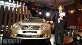 """Camry 2012 - """"Vua"""" dòng sedan hạng trung ra mắt tại Việt Nam"""