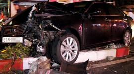 Xế sang liên tục tự mình gây tai nạn