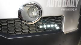 Lắp đèn LED trang trí cho Chevrolet Captiva