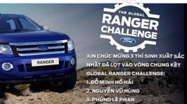 Bắt đầu bình chọn video Thử thách cùng Ranger