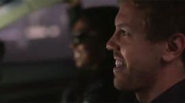 Sebastian Vettel làm thêm nghề lái xe cho ca sỹ