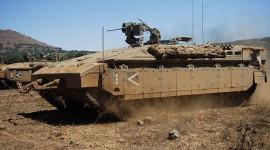 Israel thử nghiệm xe bọc thép mới