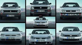 Biểu tượng Volkswagen Golf qua 7 thế hệ