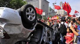GM và VW hưởng lợi từ làn sóng phản đối xe Nhật tại TQ