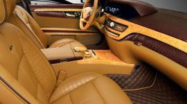 """""""Choáng"""" với nội thất Mercedes S600 Guard bằng vàng và da cá sấu"""