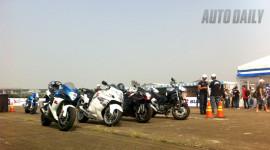 """""""Ngày hội siêu môtô Suzuki"""" diễn ra sôi động"""