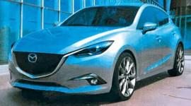 Rò rỉ hình ảnh đầu tiên Mazda3 2014