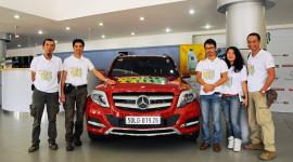 Autocar Vietnam xuyên Việt cùng GLK 2013