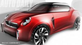 Thiết kế mẫu concept MG Icon: Hương vị nước Anh