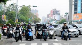 """Người Đài Loan chuộng xe máy """"mini"""""""