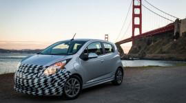 Hình ảnh chính thức của Chevrolet Spark chạy điện