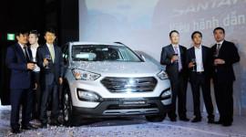 """""""Hàng nóng"""" Hyundai Santa Fe 2013 ra mắt thị trường Việt"""