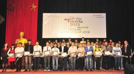 146 suất học bổng Toyota đến tay các sinh viên Việt Nam