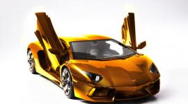 Aventador mô hình làm từ 1.400 viên kim cương
