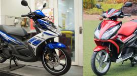 Chọn Honda AirBlade 125 hay Yamaha Nouvo GP?