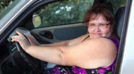 """Lái xe mất an toàn vì cân nặng """"khủng"""""""