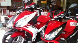Cận Tết Nguyên đán, thị trường xe máy vẫn đìu hiu