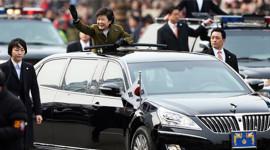 Tân tổng thống Hàn Quốc dùng xe limousine nội