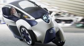 Toyota i-Road concept chính thức trình làng