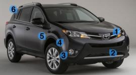 Toyota RAV4 2013 bị chê do thiết kế lỗi thời