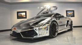 Choáng với Lamborghini Gallardo 1.500 mã lực bọc crôm