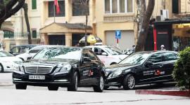 Xe Mercedes-Benz vinh dự phục vụ lãnh đạo cấp cao