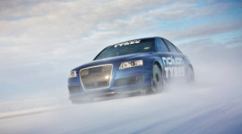 Kỷ lục Guinness về xe chạy nhanh nhất trên băng