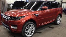 """Rò rỉ ảnh """"nóng"""" của Range Rover Sport 2014"""