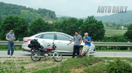 Gặp ông Tây xuyên Việt bằng xe Win