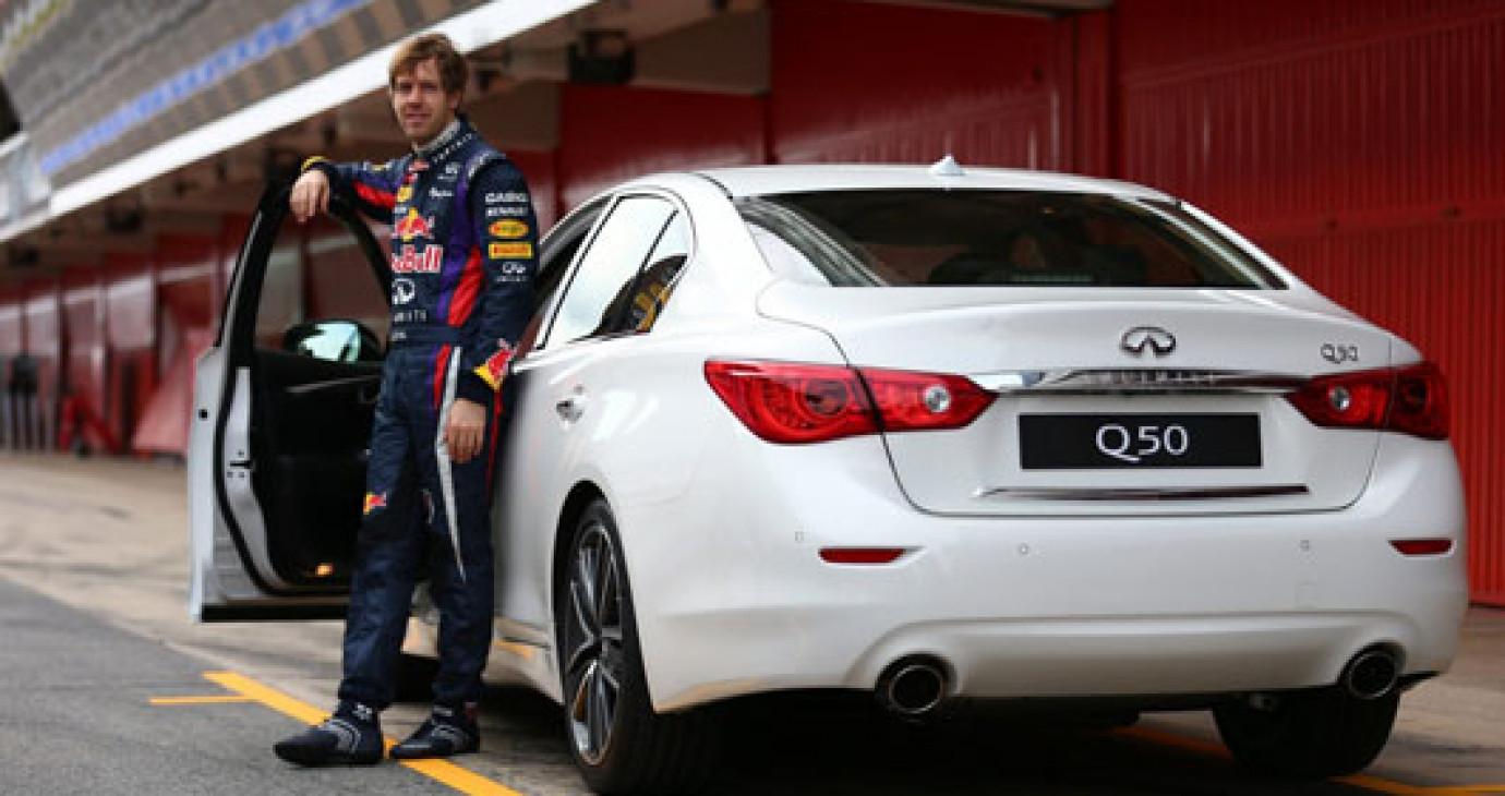 Tay đua Vettel trở thành giám đốc hiệu suất của Infiniti