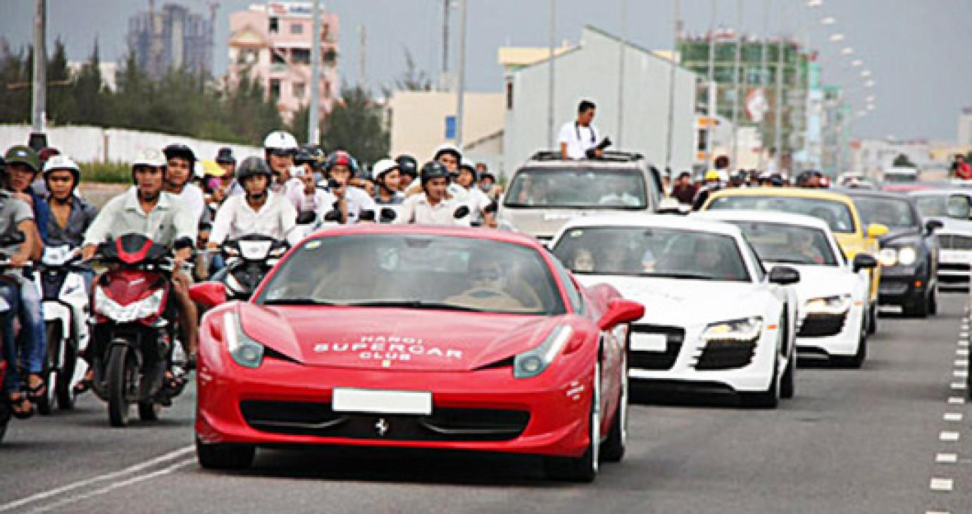 Hành trình siêu xe Việt 2013 sắp khởi hành