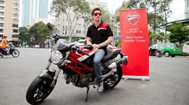 Tay đua MotoGP lừng danh thế giới đến Việt Nam