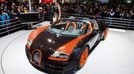 Xe mui trần nhanh nhất thế giới ra mắt tại Thượng Hải