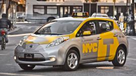 Nissan LEAF làm xe taxi tại New York