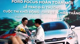 Ford Việt Nam trao giải thưởng xe Focus mới cho khách hàng